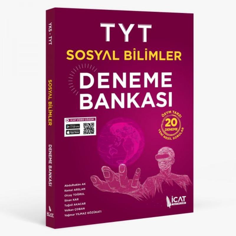İcat Yayınları TYT Sosyal Bilimler Deneme Bankası