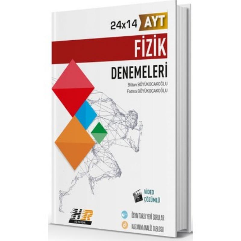 Hız ve Renk Yayınları AYT Fizik 24x14 Denemeleri