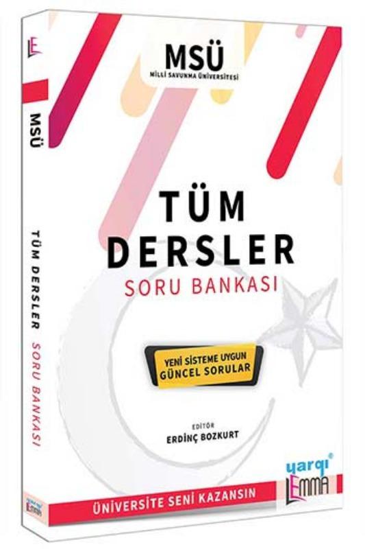 Yargı Lemma Yayınları Milli Savunma Üniversitesi Tüm Dersler Soru Bankası