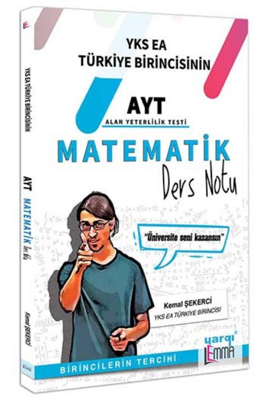 Yargı Lemma Yayınları AYT Matematik Ders Notu