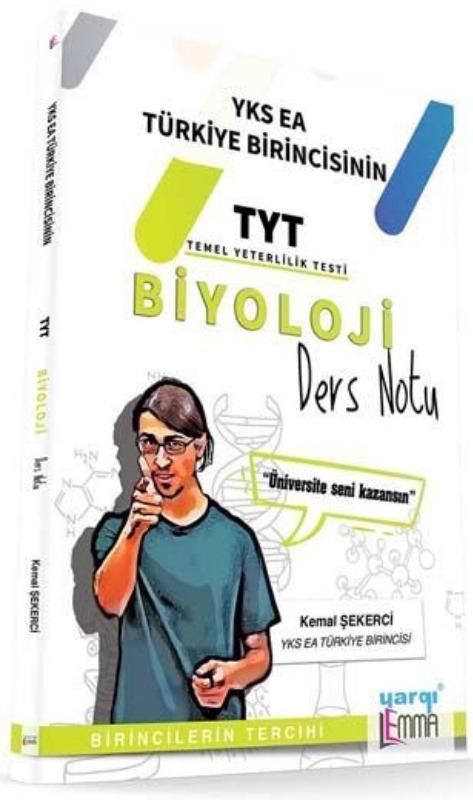 Yargı Lemma Yayınları TYT Biyoloji Ders Notu