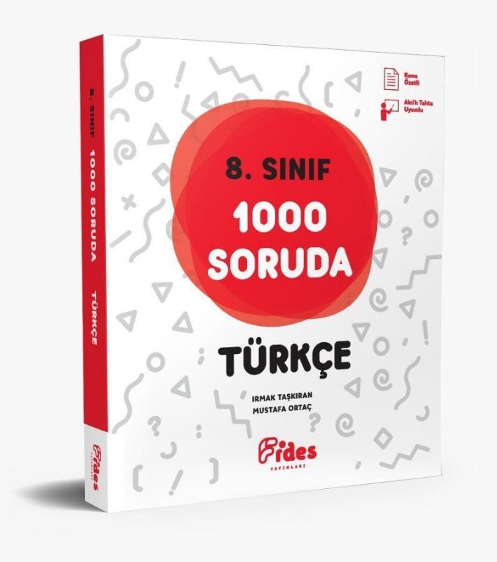 Fides Yayınları 8. Sınıf 1000 Soruda Türkçe