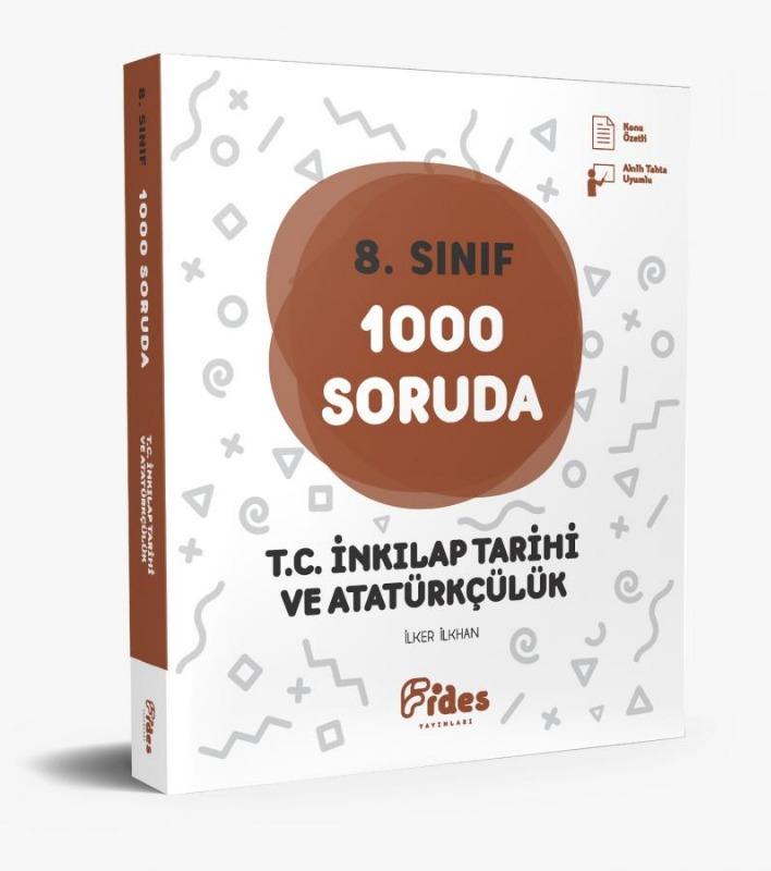 Fides Yayınları 8. Sınıf 1000 Soruda T.C. İnkılap Tarihi ve Atatürkçülük