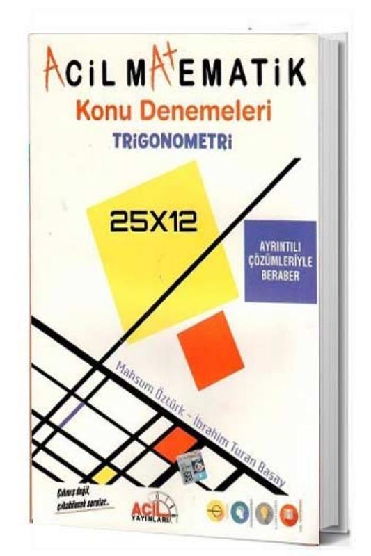 Acil Yayınları Trigonometre Konu Denemeleri