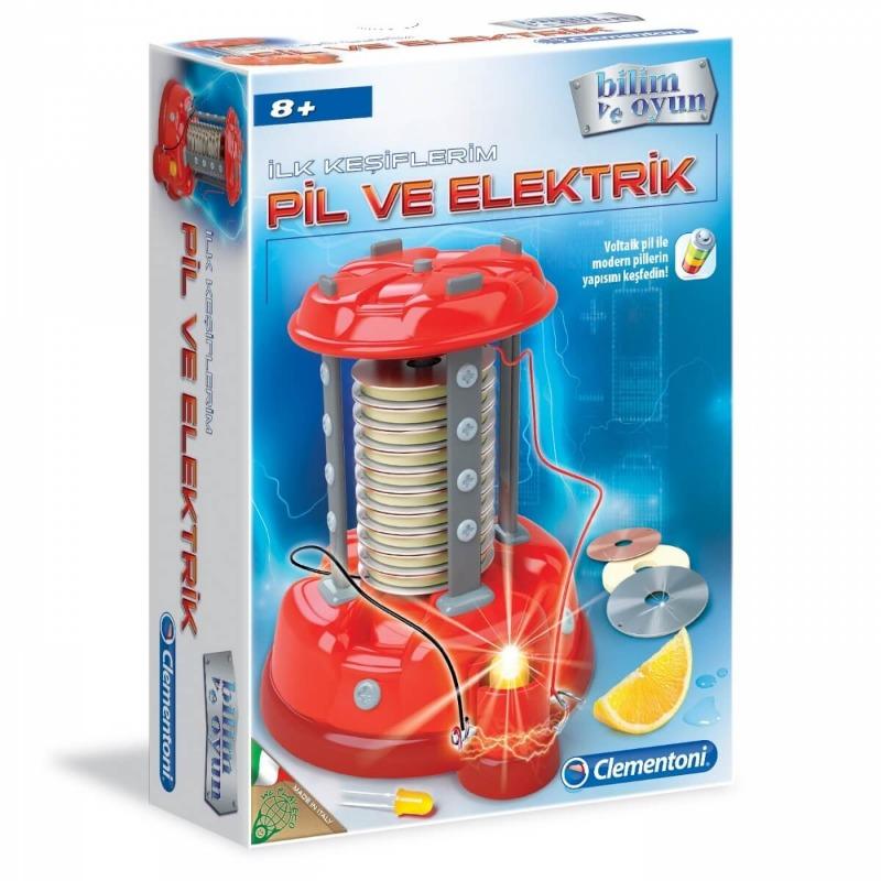 Clementoni İlk Keşiflerim - Pil ve Elektrik