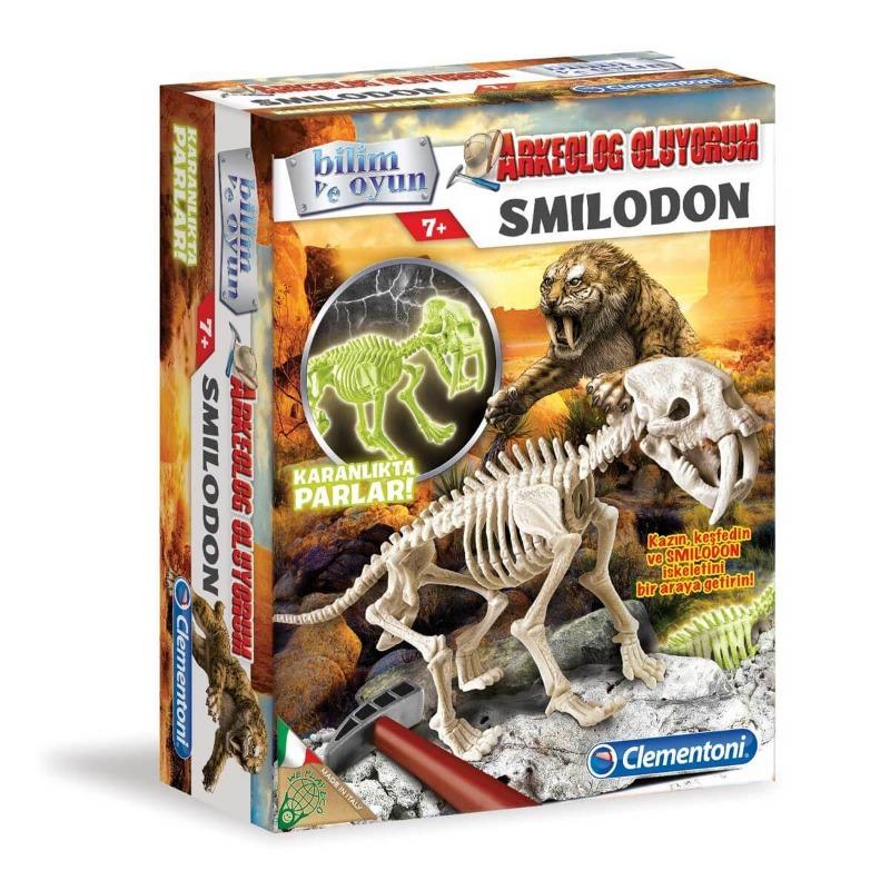 Clementoni Arkeolog Oluyorum  Smilodon