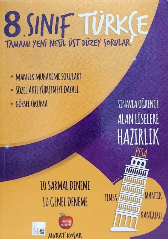 Newton Yayınları 8. Sınıf Türkçe Deneme