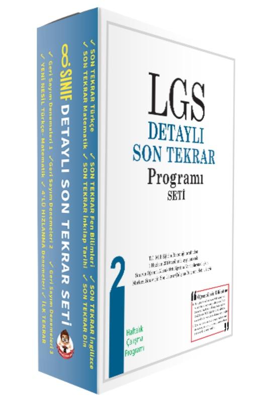 LGS Detaylı Son Tekrar Programı Seti Tonguç Akademi Yayınları