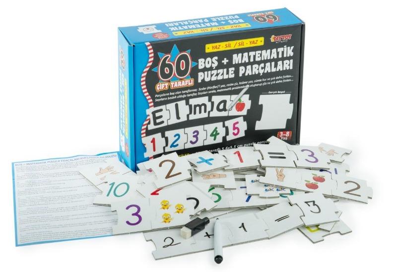 BLank Puzzle Matematik Diytoy