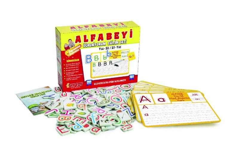 Alfabeyi Öğretiyorum Seti Diytoy