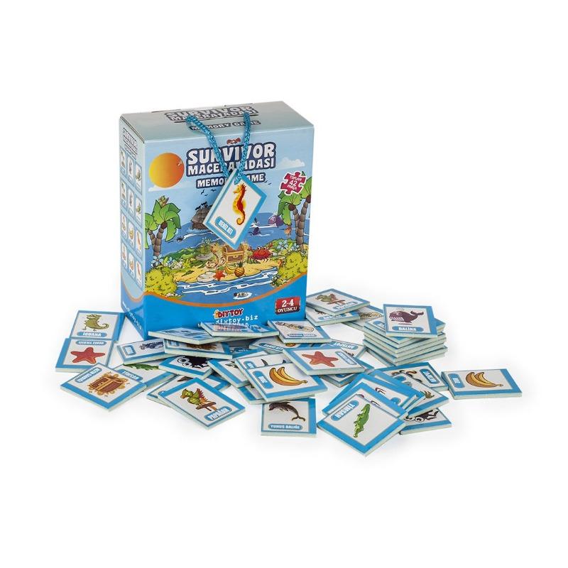 Macera Adası Hafıza Oyunu Diytoy