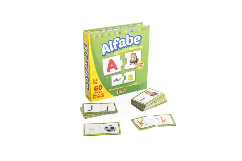 Alfabe Eğlenceli Bulmacalar Diytoy Oyuncak