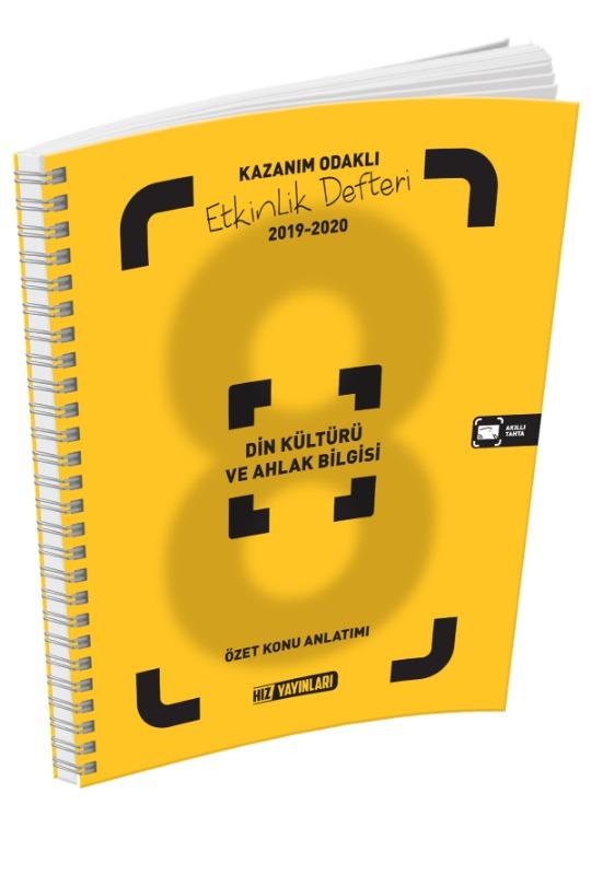 8. Sınıf Din Kültür Etkinlik Defteri Hız Yayınları