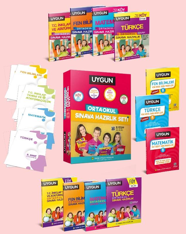 Sadik Uygun Yayınları Lgs Ortaokul Sınava Hazırlık Seti
