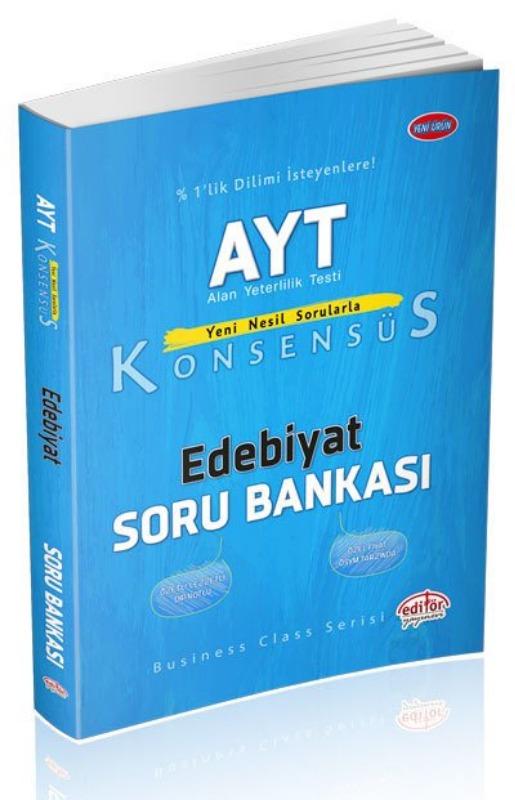 AYT Konsensüs Edebiyat Soru Bankası Data Yayınları