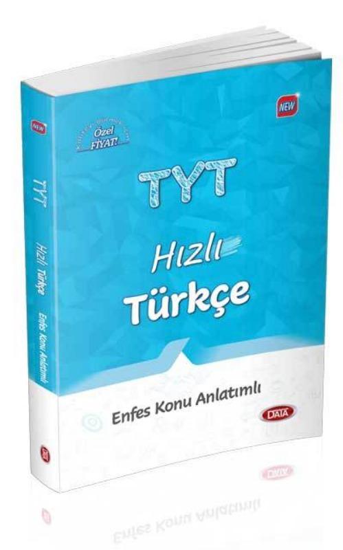 TYT Hızlı Türkçe Enfes Konu Anlatımlı Data Yayınları