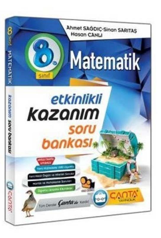 8. Sınıf Matematik Etkinlik Kazanım Soru Bankası Çanta Yayıncılık