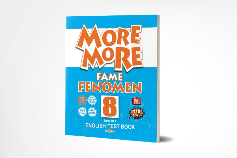 Kurmay ELT More and More Fame Fenomen 8 English Test Book