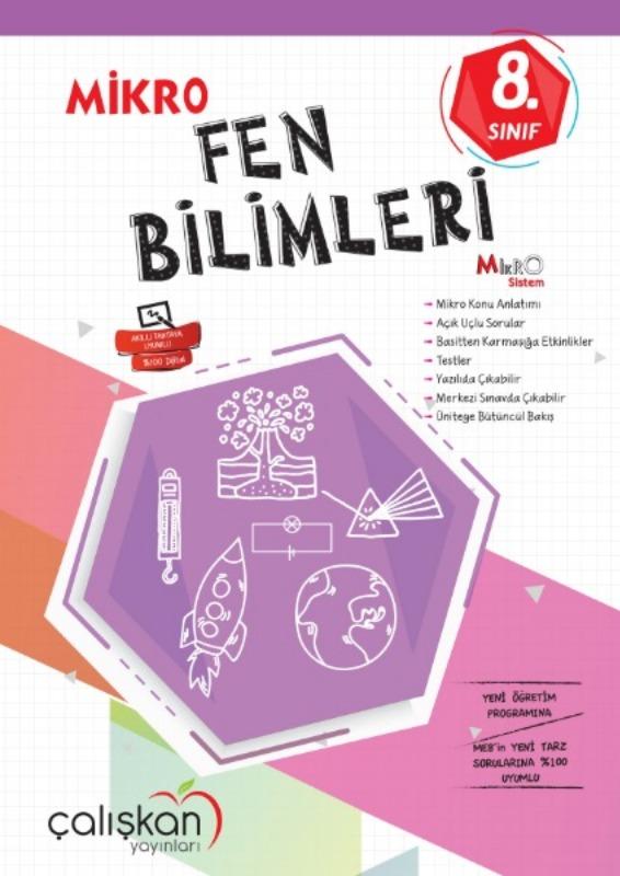 8.Snf. Mikro Defter  Fen Bilimleri Çalışkan Yayınları