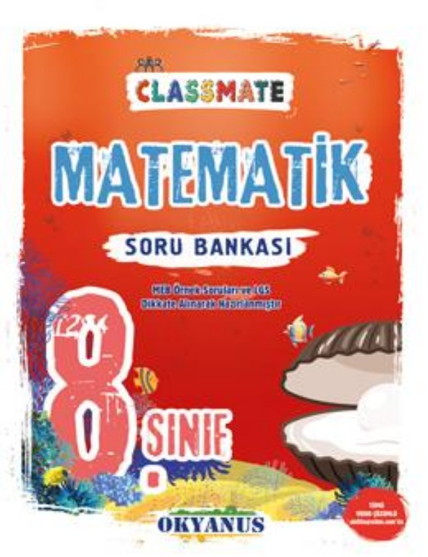 Okyanus Yayınları 8. Sınıf Classmate Matematik Soru Bankası