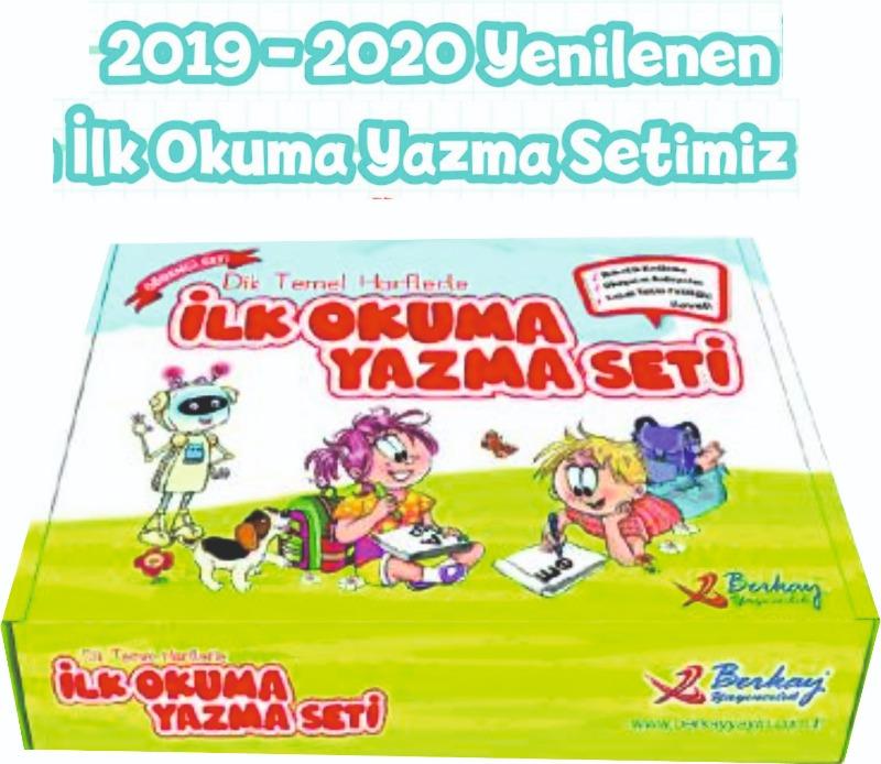 1. Sınıf Berkay İlk Okuma Yazma Seti  DİK TEMEL HARFLERLE YENİ Berkay Yayınları