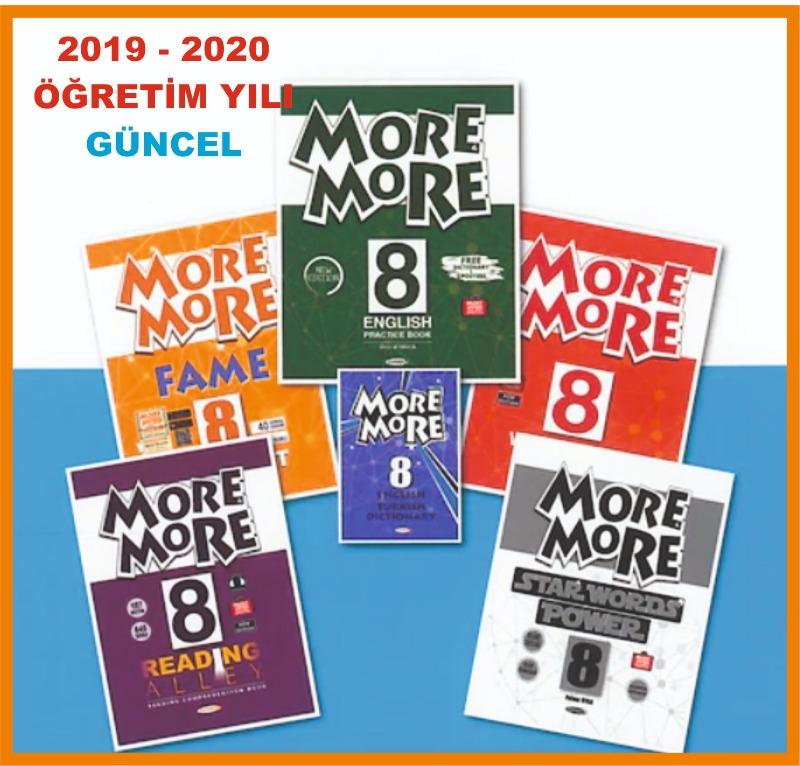Kurmay 8.Sınıf MORE and MORE SÜPER SET YENİ 2020