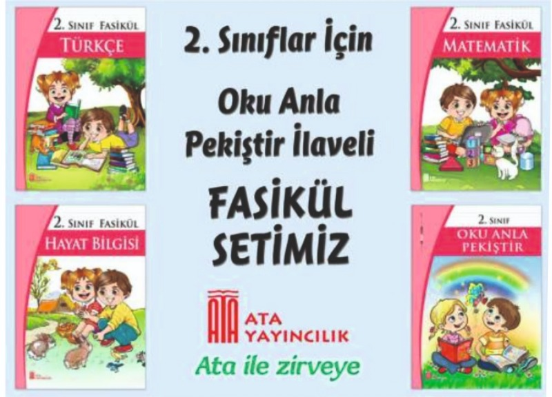 ATA YAYINCILIK 2. SINIF FASİKÜL SET