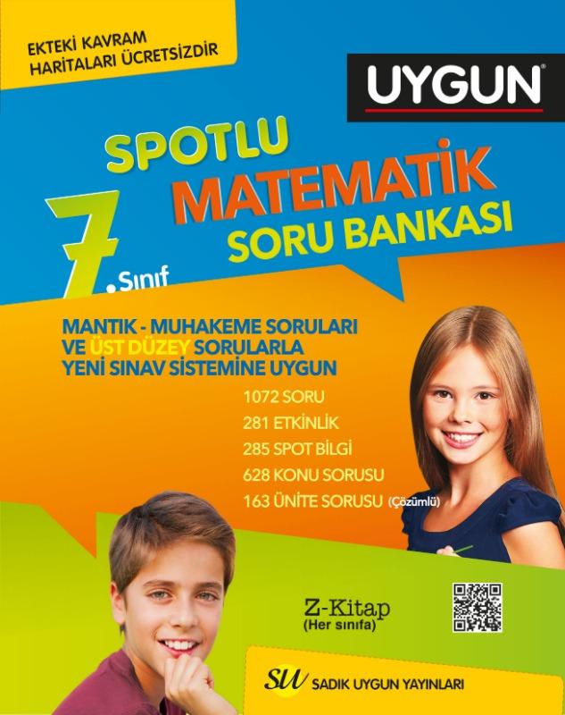 7. Sınıf Matematik Soru Bankası Sadık Uygun Yayınları