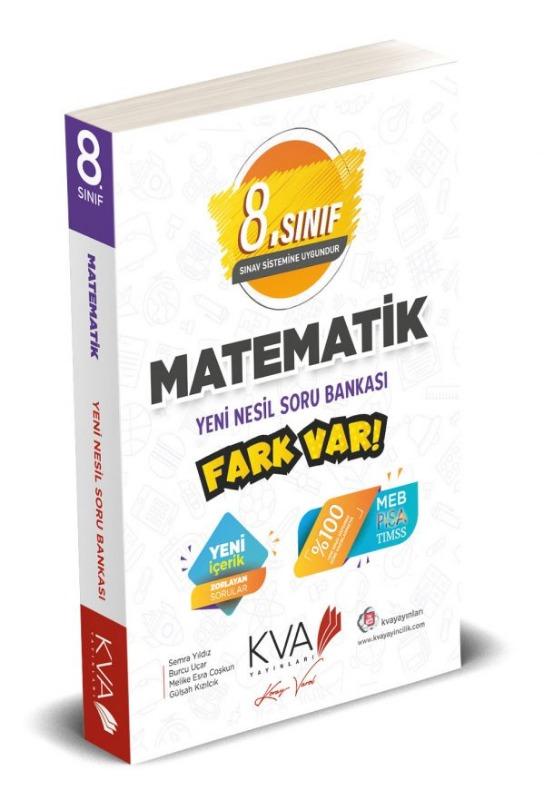 8.sınıf Matematik Fark Var Yeni Nesil Soru Bankası Koray Varol Yayınları