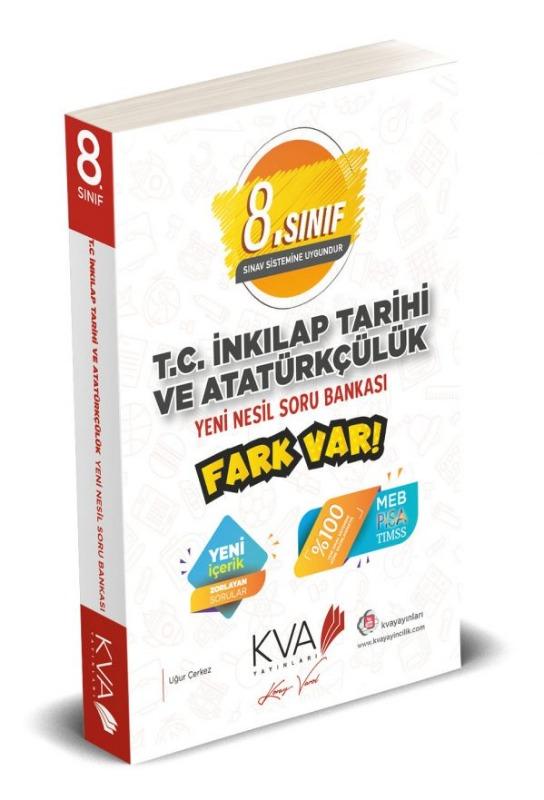 8. Sınıf İnkilap Tarihi Fark Var Yeni Nesil Soru Bankası Koray Varol Yayınları