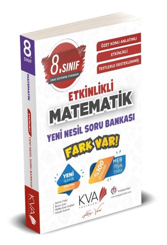 8.Sınıf Matematik ETKİNLİKLİ FARK VAR YENİ NESİL Soru Bankası Koray Varol Yayınları