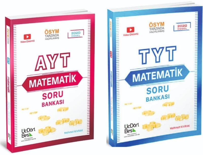 TYT - AYT İkili Set Üç Dört Beş Yayınları