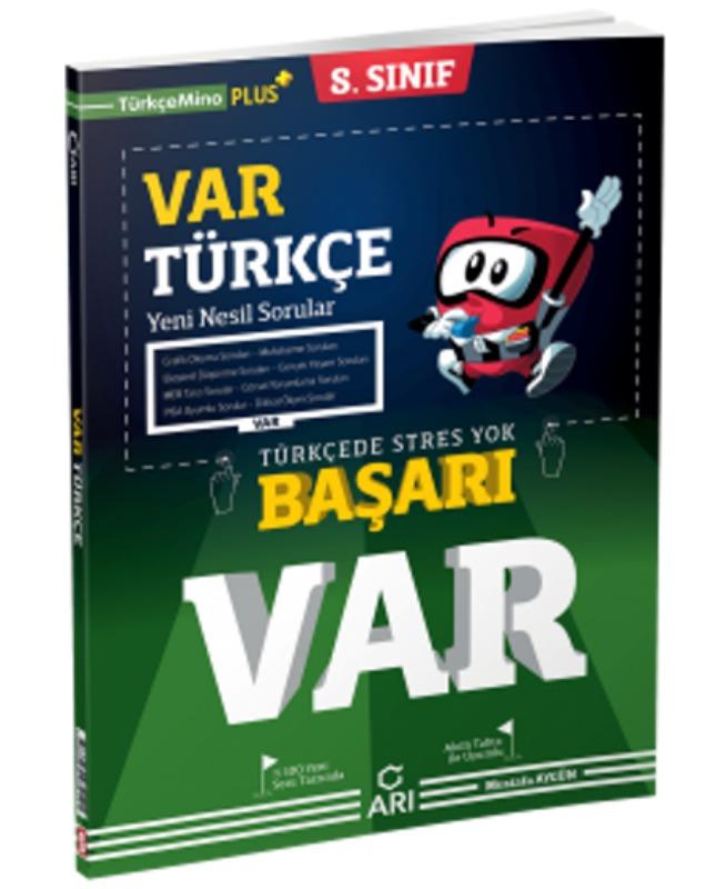 8. Sınıf BAŞARI VAR Türkçe Yeni Nesil Soru Bankası Arı Yayınları