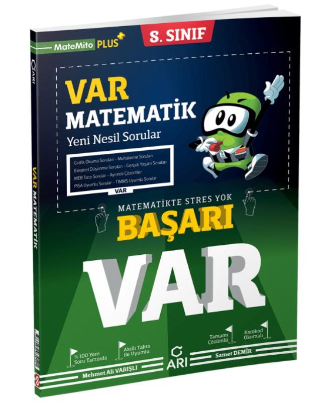 8. Sınıf BAŞARI VAR Matematik Yeni Nesil Soru Bankası Arı Yayınları