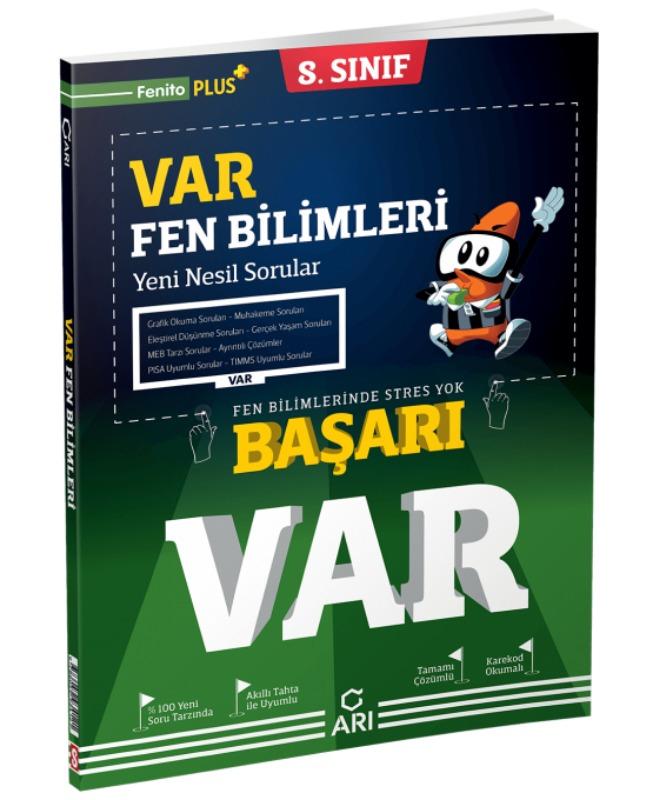 8. Sınıf BAŞARI VAR Fen Bilimleri Yeni Nesil Soru Bankası Arı Yayınları