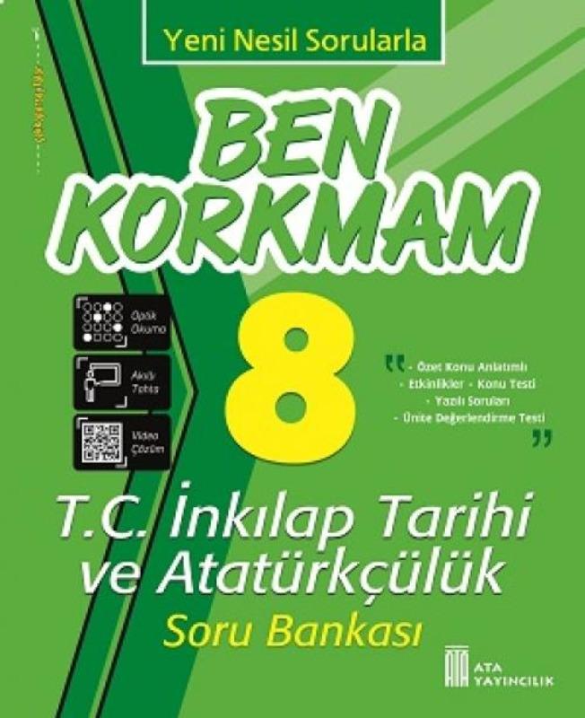 8. Sınıf Ben Korkmam Fen Bilimleri Soru Bankası Ata Yayıncılık