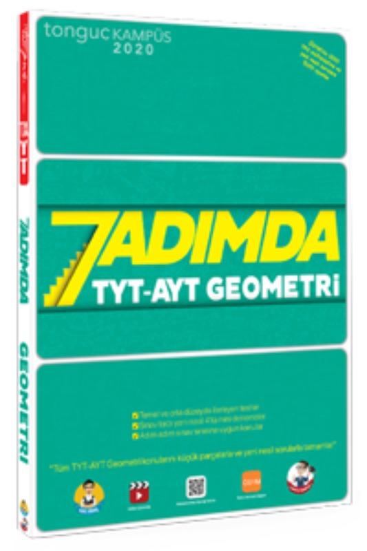 7 Adımda TYT-AYT Geometri Soru Bankası Tonguç akademi Yayınları