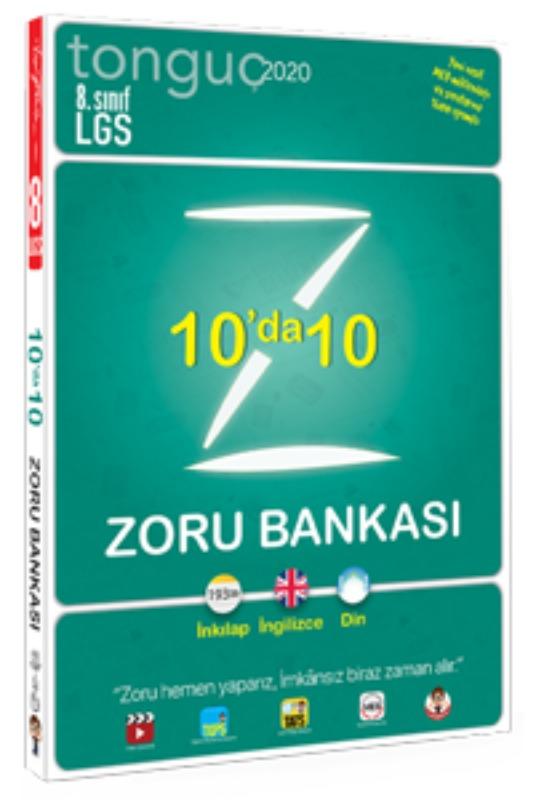 8. Sınıf 10'da 10 Zoru Bankası Tonguç akademi Yayınları