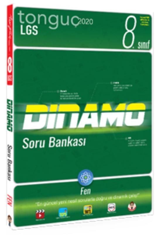 8. Sınıf Fen Bilimleri Dinamo Soru Bankası Tonguç akademi Yayınları