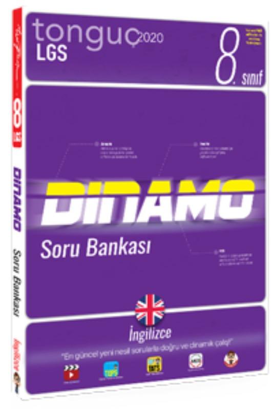 8. Sınıf İngilizce Dinamo Soru Bankası  Tonguç akademi Yayınları