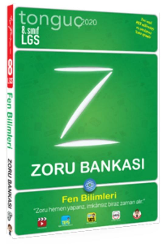 8. Sınıf Fen Bilimleri Zoru Bankası Tonguç akademi Yayınları
