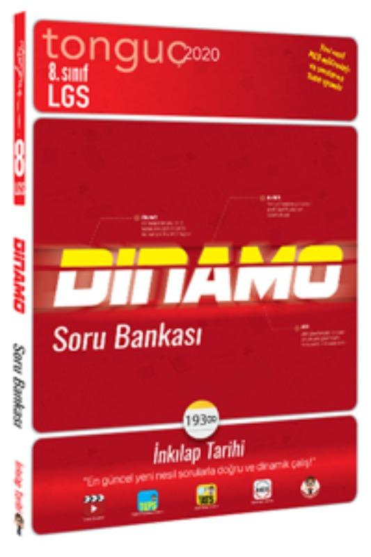 8. Sınıf İnkılap Tarihi Dinamo Soru Bankası Tonguç akademi Yayınları