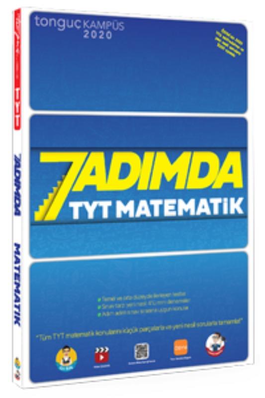 7 Adımda TYT Matematik Soru Bankası Tonguç Akademi Yayınları