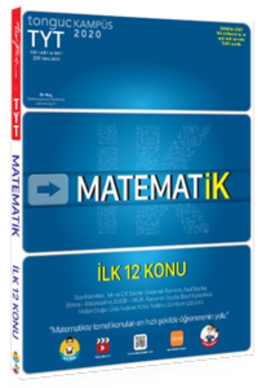 MATEMAT  İlk 12 Konu Tonguç Akademi Yayınları