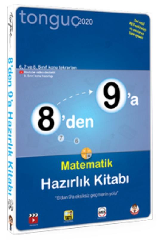8'den 9'a Matematik Hazırlık Kitabı Tonguç Akademi Yayınları