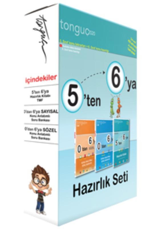 5'ten 6'ya Hazırlık Seti Tonguç Akademi Yayınları