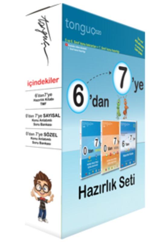 6'dan 7'ye Hazırlık Seti Tonguç Akademi Yayınları