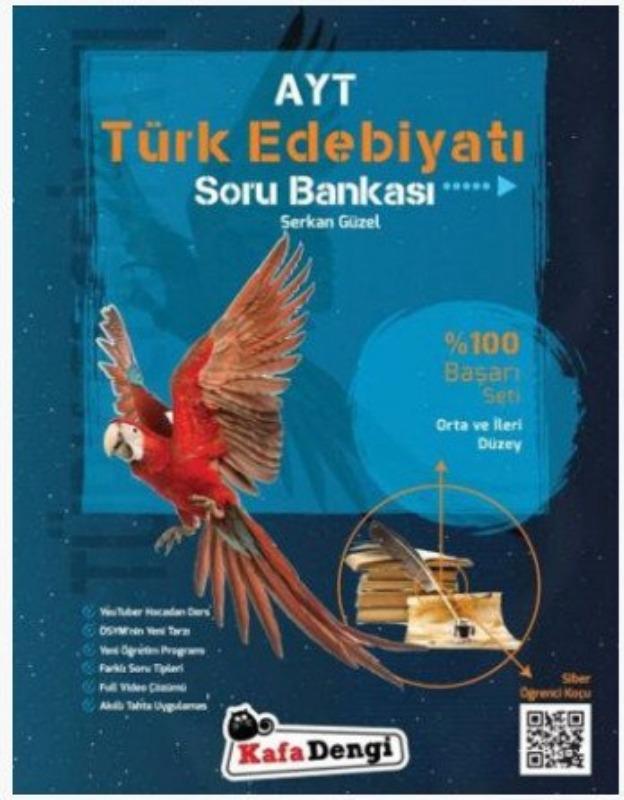 AYT Edebiyat Soru Bankası Kafadengi Yayınları