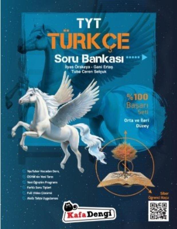 TYT Türkçe Soru Bankası Kafadengi Yayınları