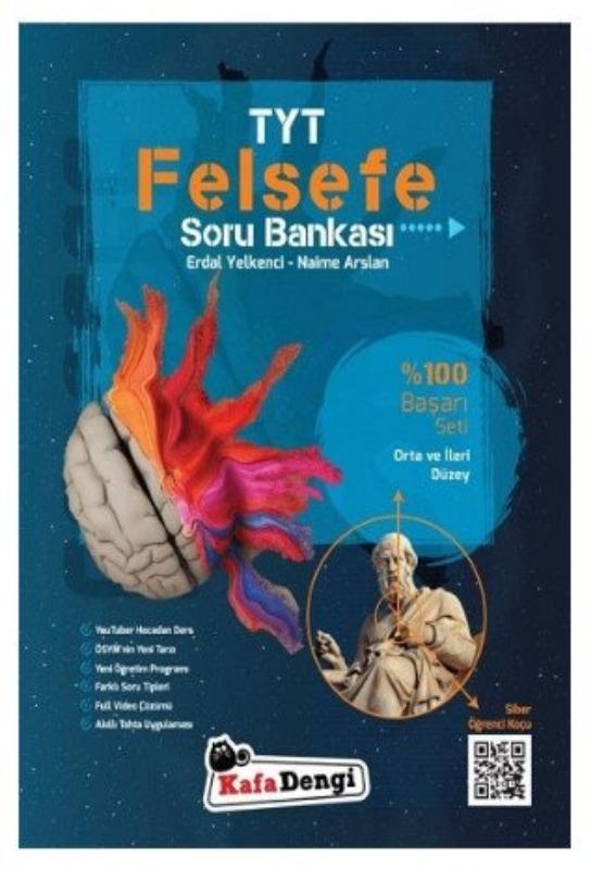 TYT Felsefe Orta ve İleri Düzey Soru Bankası Kafa Dengi Yayınları